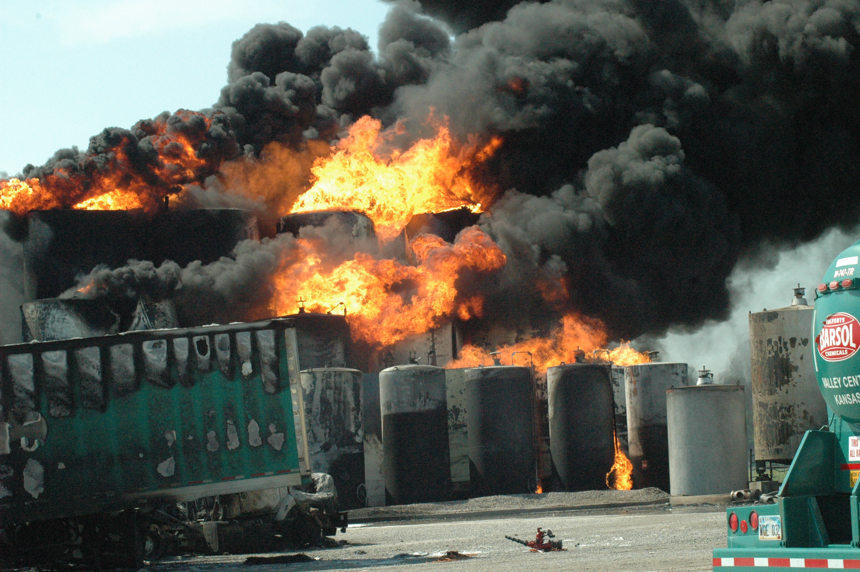 Barton Solvents Explosions And Fire Csb